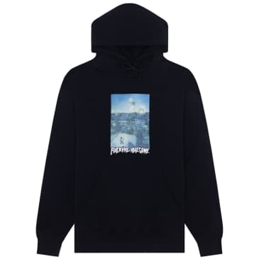 Fucking Awesome Helicopter Hoodie - Black