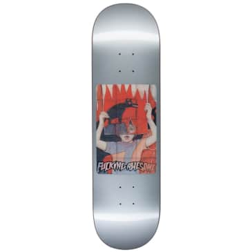 """Fucking Awesome Tiger Holographic Silver deck - 8.5"""""""