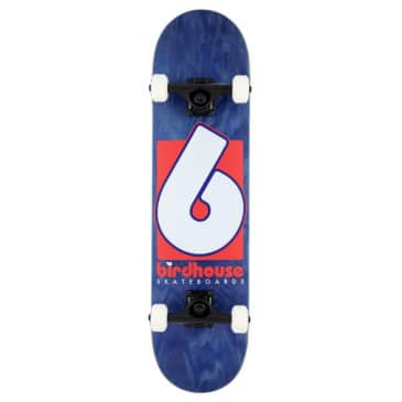 B Logo (Navy/Red) Stage 3 Complete Skateboard 7.75