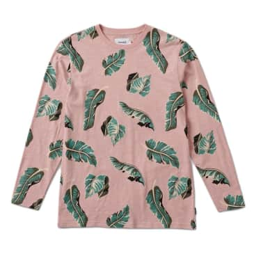 Diamond Supply Co. Tropical Paradise Longsleeve T-Shirt - Pink