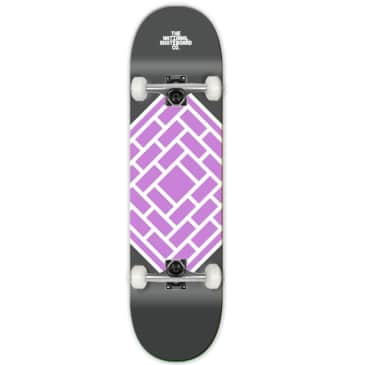 """The National Skateboard Co. - Classic Purple - High Concave - Complete Skateboard - 8.75"""""""