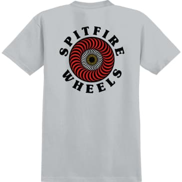 SPITFIRE OG Classic Fill Tee Silver