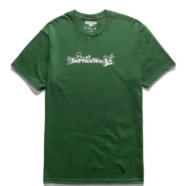 Service Works Chase T-Shirt - Forest Green
