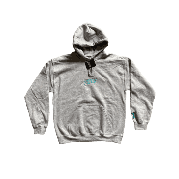 ILLICIT - Embroidered hoodie (Grey )