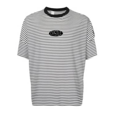 Oval Striped S/S T-Shirt