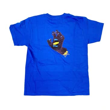 SANTA CRUZ Youth Framework Hand Tee Royal