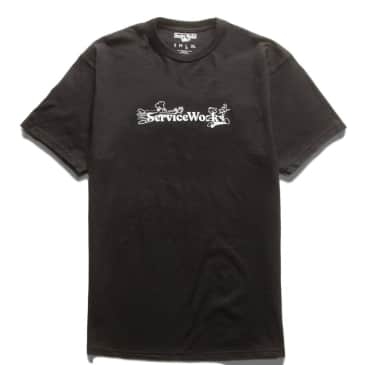 Service Works Chase T-Shirt - Black
