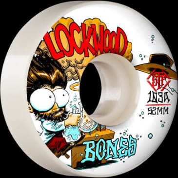 Bones Wheels V3 Slims 54mm STF 103a Lockwood Experi-Mental