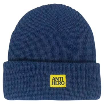ANTIHERO Lil Black Hero Beanie Navy