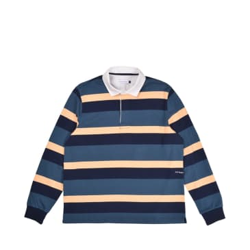 Pop Trading Company Rugby Polo - Multi Colour