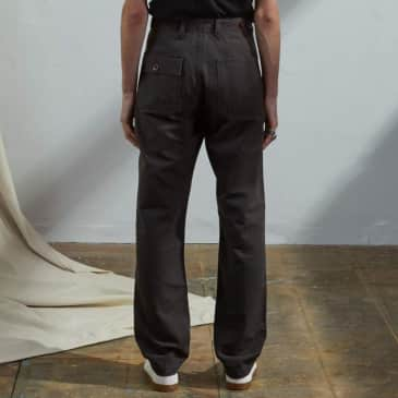 USKEES - Workwear pants Faded black