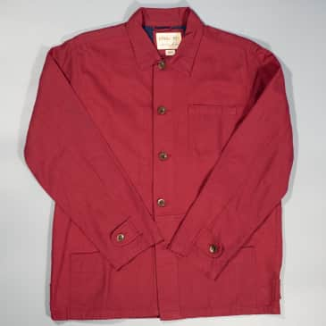 USKEES - Buttoned Jacket Red