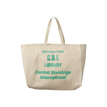 Central Bookings Law Library Tote Bag - Natural