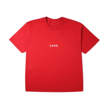 June - PUFF! Youth T-Shirt - Red, White