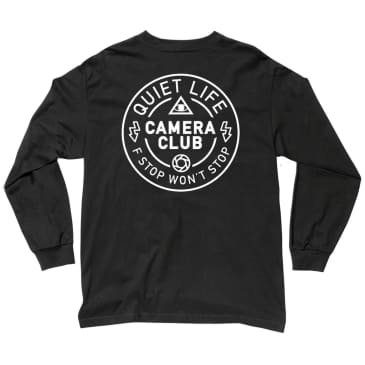 The Quiet Life - Wont Stop Long Sleeve T - Black