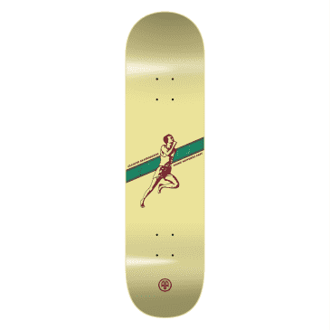"""Cleaver Skateboards - 8.375"""" Going Nowhere Fast Deck - Yellow"""