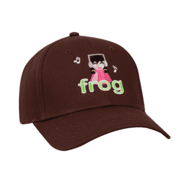 Frog Skateboards I'm Not Listening Hat - Brown