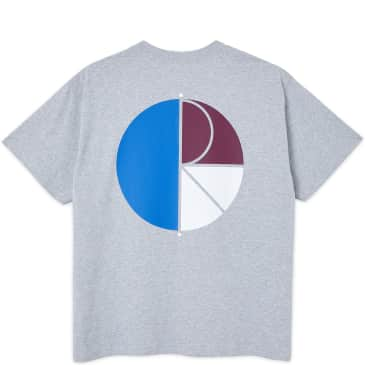 Polar Skate Co 3 Tone Fill Logo T-Shirt - Athletic Grey