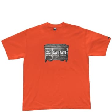 Paperwork NYC Canned T-Shirt - Orange