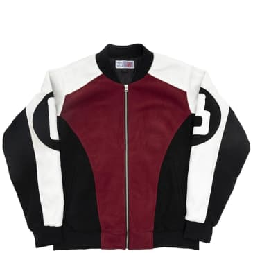 Bronze 56k B Ball Fleece Bomber - Red