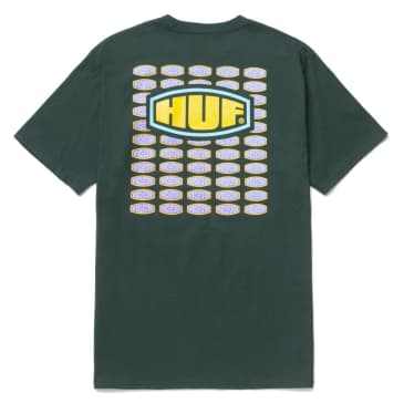 HUF Workmans Tee Dark Green