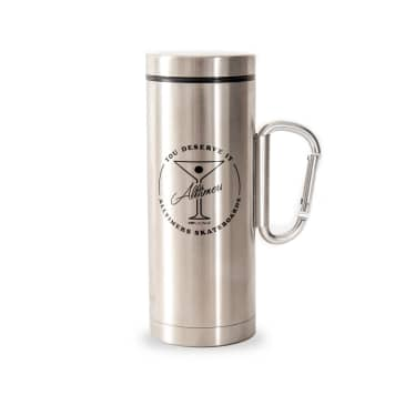 Alltimers Thermos Flask - Silver