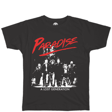 Paradise.NYC Lost Generation T-Shirt - Black
