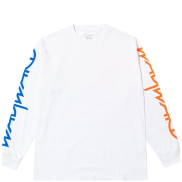 Wayward Skateboards Wayslee Snipes Long Sleeve T-Shirt - White