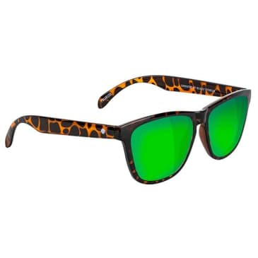 Glassy - Deric Polarized Sunglasses - Tortoise/Green Mirror