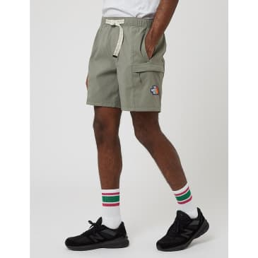 North Face Class V Belted Shorts - Agave Green