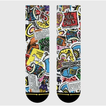 Merge 4 New Deal Sticker Pack Socks
