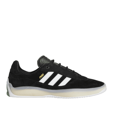 adidas Skateboarding Puig Shoes - Core Black / Ftwr White / Vivid Green