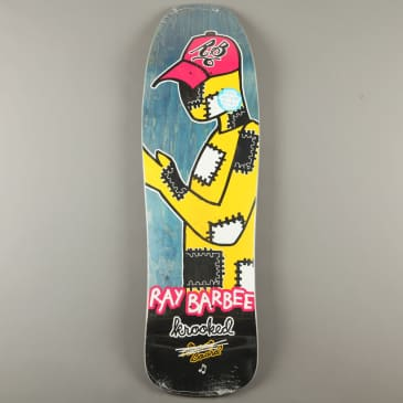 """Krooked 'Ray Barbee Redux' 9.5"""" Deck (Blue)"""