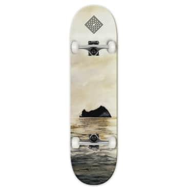 "The National Skateboard Co. - Rock - High Concave - Complete Skateboard - 8.125"""