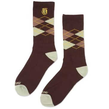 Theories Brand- Lantern Argyle Socks