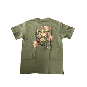 Theories - Flora Tee (Olive Green)