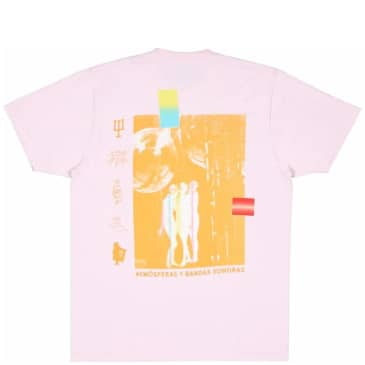 Real Bad Man Neu Bandas T-Shirt - Pink