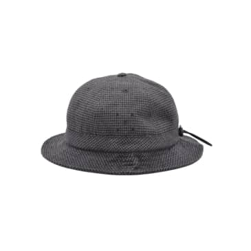 Bell Hat Anthracite Houndstooth