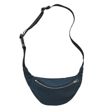 Polar Skate Co Waxed Cotton Hip Bag - Navy