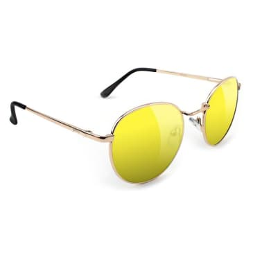 Glassy Ridley Glasses - Gold / Yellow