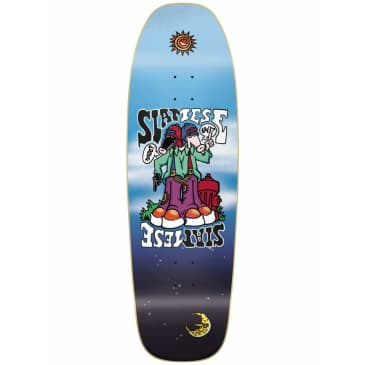 The New Deal Siamese Slick 9.375 Old School Reissue Deck