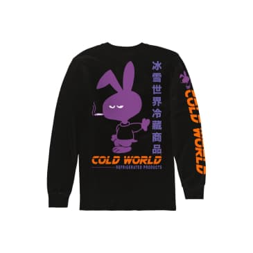 Cold World Frozen Goods - Mean Bunny LS T-Shirt