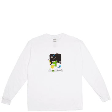 Vans x Frog Long Sleeve T-Shirt - White
