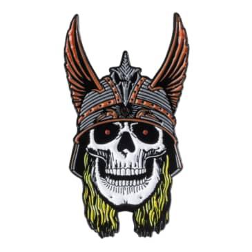 Powell Peralta Andy Anderson Skull Lapel Pin