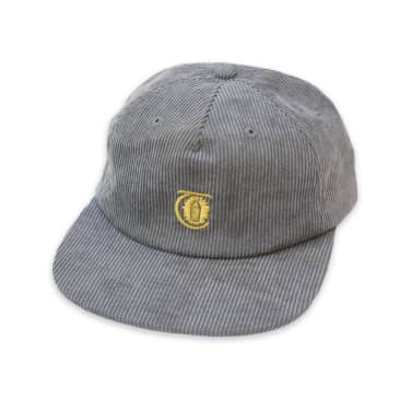 Theories Lantern Corduroy Strapback Hat (Pewter)