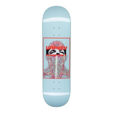 "Hockey Skateboards - Hockey John Fitzgerald Nerves Skateboard Deck Blue | 8.5"""