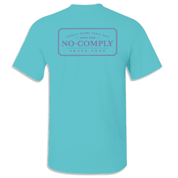 No-Comply Locally Grown Shirt - Jazz Blue Ultra Violet