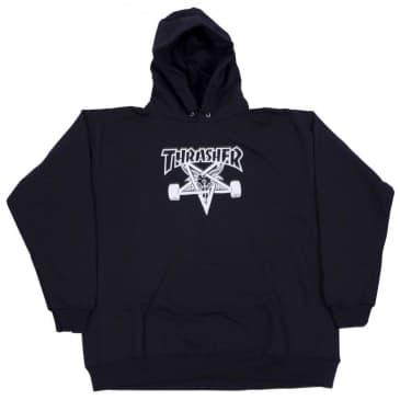 Thrasher Skategoat Hoodie - Black