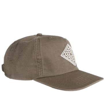The National Skateboard Co. Logo Cap - Washed Coffee
