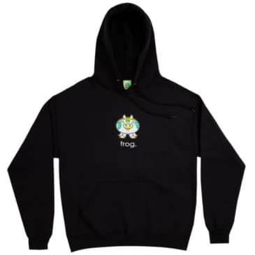 Frog Skateboards Cow Hoodie - Black